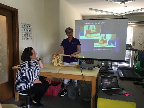 Karen Taylor Soiles PRI Inservice Athens Greece Praxis Physical Therapy